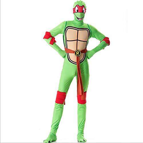 Disfraz de Halloween, Disfraz de Turtle Mutant Ninja Turtle Cosplay Turtle Stage Disfraz,XL