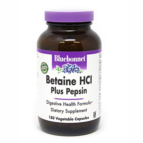 BlueBonnet Betaine HCI Plus Pepsin Vegetarian...