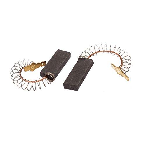 Aexit Paar 5 x 12,5 x 30 mm Kohlebürsten Elektrowerkzeug für elektrische Schlagbohrmaschine Motor