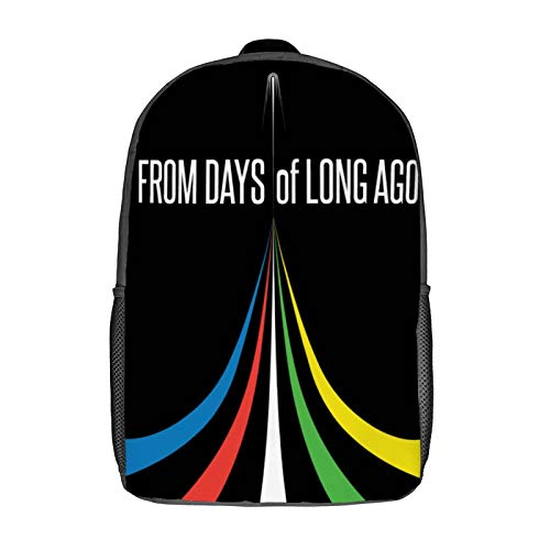 Five Lion - From Days of Long Ago (Voltron) Base_ball Sleeve 3D Anime School Bag with mesh pocket Unisex Fashion Black bookbag Travel Laptop Backpack 17 inch