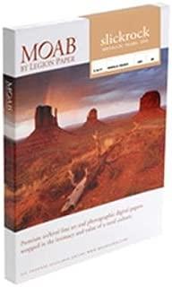 "Moab Slickrock Metallic Pearl Inkjet Paper, 8.5x11"" Size, 100 Sheets"