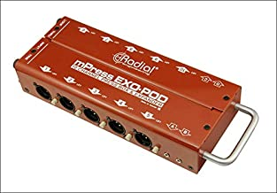 Radial Engineering EXO-POD Press Box Passive Broadcast Splitter with 14 Transformer Isolated Outputs