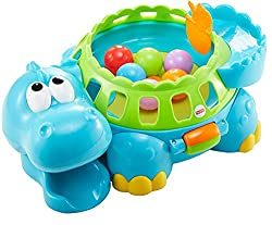 Fisher-Price Poppity Pop Musical Dino Educational Toy for Preschool Children