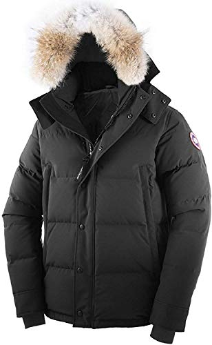 336 Luxury Canada Daunenjacke Sweater Goose Herren Expedition Parka Feather Winterjacke Schafffell Jacke Kapuze