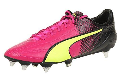 Puma Evospeed Sl Ii L Tricks Mi - pink glo-safety yellow-black, Größe:11.5