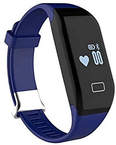 Monitor de actividad con monitor de ritmo cardíaco y monitor de sueño, con actividad y paso de salud, contador de calorías, pulsera deportiva inteligente (color: B)-C