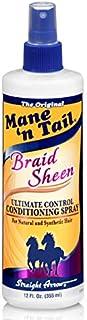 Mane'n Tail Braid Sheen Spray, 12 Oz, MNT543706