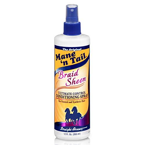 Mane 'n Tail Braid Sheen Spray, 12 Oz, MNT543706