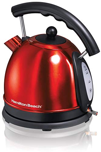 Hamilton Beach Compact Stainless Steel Ensemble 10-Cup Electric Kettle 40894