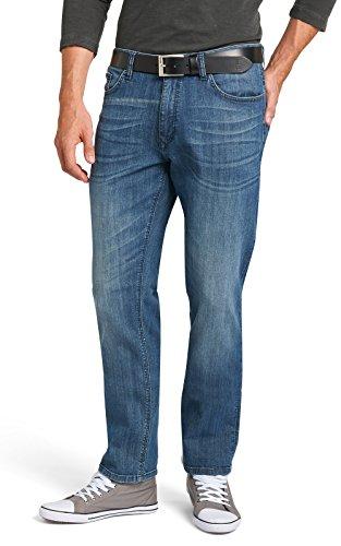 H.I.S Jeans Herren Stanton Jeanshose, Blau (Essential Blue 9332), W38/L32 (Herstellergröße: 38/32)