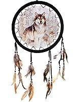 ラインストーンのダイヤモンド刺繡動物の写真5Dダイヤモンド絵画ウルフクロスステッチモザイクドリームキャッチャー手工芸品