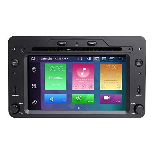 LYHY Autoradio Android 10 Octa Core 4G RAM 128G Rom Lettore multimediale per Auto Compatibile con Alfa Romeo 159 Brera Spider Sportwagon con Schermo Multi-Touch HD Autoradio GPS per Auto Lettore Dvd