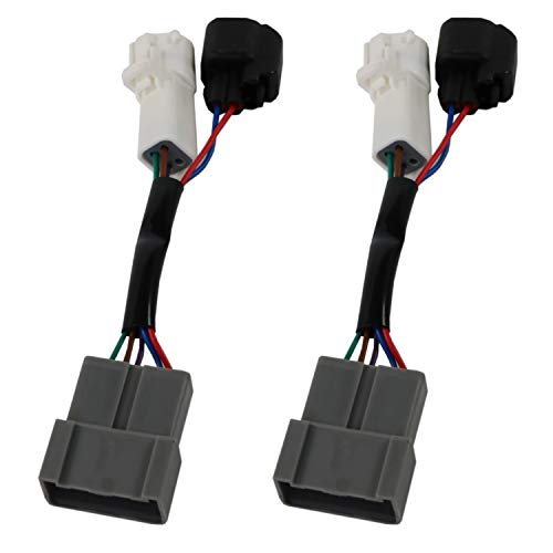 JDMSPEED New Mirrors Power Heated Upgrade Harness Adapter LH RH Pair Set Replacement For Excursion 00-01