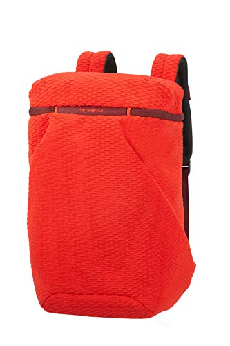 Samsonite Neoknit - 15.6 Inch Laptop Backpack, 45 cm, 17 Litre, Orange (Fluo Red/Port)