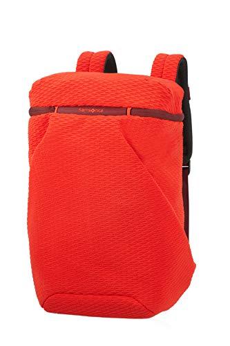 Samsonite Neoknit - 15.6 Zoll Laptoprucksack, 45 cm, 17 L, Orange (Fluo Red/Port)