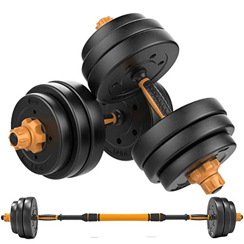 Multifunction Hand Weights Dumbells Adjustable Weight Dumbbells for Men 10 15 20 30 Kg Non-Slip Comfortable Grip Fitness Equipment Set of 2 for Training Arm Muscle Strength Etc7.5 kg x 2