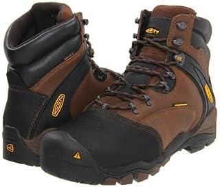 Keen Utility(キーン) メンズ 男性用 シューズ 靴 ブーツ 安全靴 ワーカーブーツ Louisville Met - Slate Black [並行輸入品]