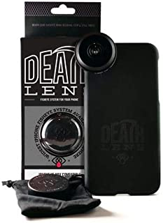 Death Lens iPhone 8 Plus Pro Fisheye Lens kit - 200 Degree, No Vignette, Crystal Clear Picture Every Time, HD Picture