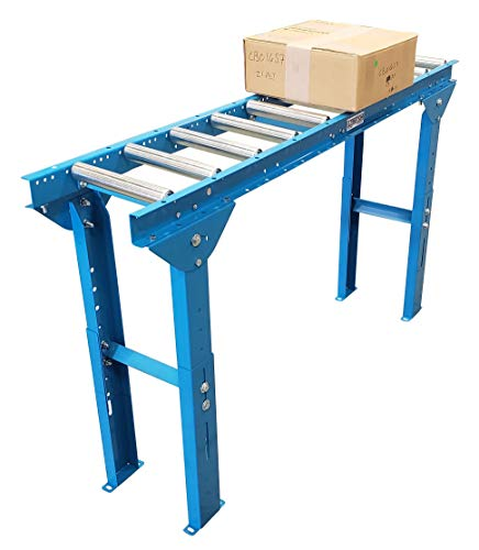 Roller Stand, Ultimation 500 Pound Capacity, Adjustable Height 12 in. W x 5 ft....