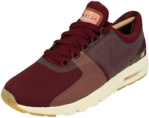 Nike W Air Max Zero, Stivaletti Donna, Rosso (Night Maroon/Atomic Pink/Sail/Night Maroon), 42.5 EU