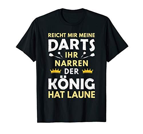 Herren Dartspieler Darts Reicht mir die Dartpfeile Dart Geschenk T-Shirt