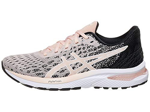 Asics Damen Gel-Cumulus 22 Laufschuhe, Pink (Breeze/Black), 44 EU