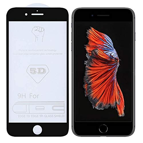 Dmtrab para Película de Vidrio Templado de Pantalla Completa de 9h 5D Full Glue para iPhone 6 Plus / 6S Plus