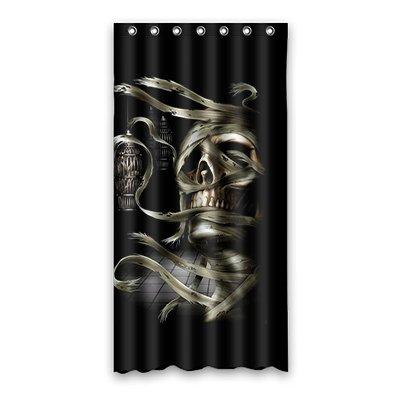 Dalliy Brauch Coole Totenkopf Wasserdicht Polyester Shower curtain Duschvorhang 90cm x 183cm