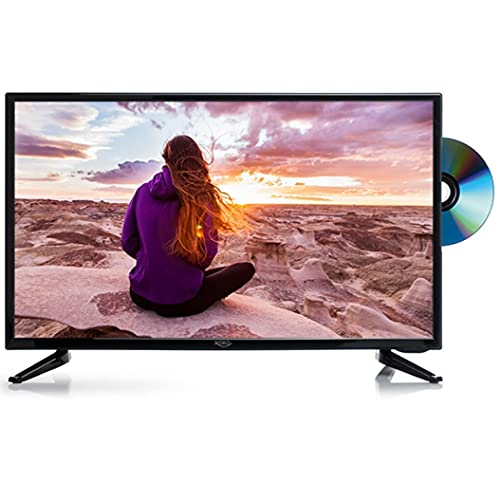 Xoro HTC 2449 LED Fernseher 60cm (24 Zoll) HD, Triple Tuner DVB - S2/T2/C (Wohnmobil Camping TV mit DVD Player) USB Mediaplayer, CI+ Schacht, 12V u 230V