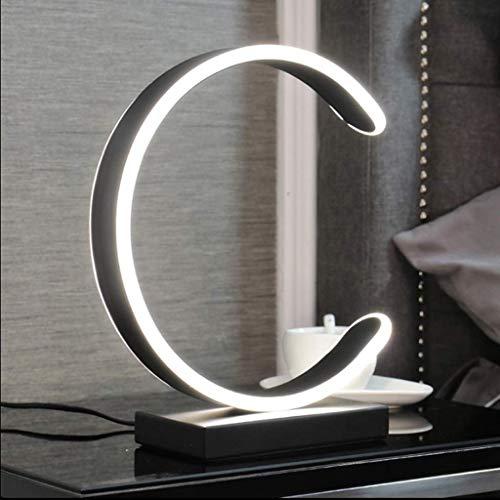 SkyHY224 Lámpara de escritorio Lámpara de mesa LED RGB lámpara de mesa LED 3 colores sin escalonamiento ajustable tipo C simple moderna lámpara de mesa peque?a lámpara de noche para dormitorio lámpara