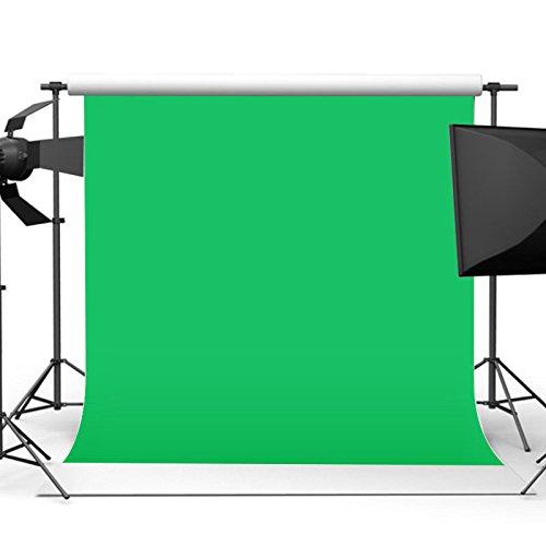 MASUNN 10X10Ft 3X3M Chromakey Green Screen Muselina Telón De Fondo Fotografía Background