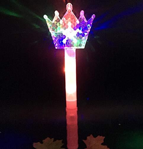 LMKIJN Gracioso Flash para niños Grande Magic Wand Magic Fairy Bar Colorido Juguete Flash