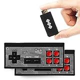 Consola de Juegos Retro, Consola de Videojuegos 4K HDMI 568 Juegos clásicos incorporados Mini Consola Retro Controlador de Gamepad portátil USB, Videojuegos Plug and Play