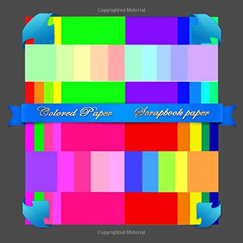 Scrapbook Paper: Colored Paper