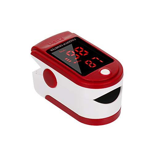 Walory Fingerspitzen-Pulsoximeter-LED-Digitalanzeige zur Messung der Pulsfrequenz Überwachung der Blutsauerstoffsättigung Station Home Health Care
