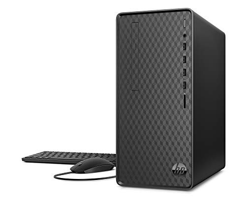 HP - Computer desktop, PC, M01, Windows 10, colore: nero