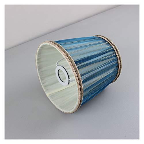 AleXanDer1 Tulipas para lamparas 2pc 15.5cm / 6.1inch Pantalla De Encaje Azul For Lámpara, E14