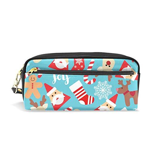 Estuche de Papá Noel con diseño de reno de Navidad para niños,...