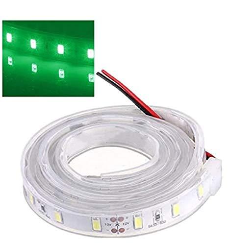 MASUNN 1 M 5630 SMD LED Tira De Silicona Luz Verde Impermeable 12V