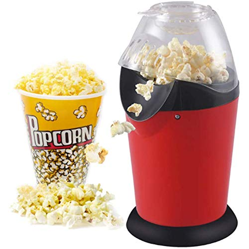 Best Review Of xxz Hot Air Popcorn Machine, Electric Popcorns Maker with Measuring Cup Removable Lid...