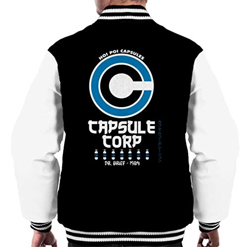 Capsule Corp Hoi Poi Retro Dragon Ball Z Men's Varsity Jacket