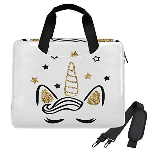 Unicorn Laptop Shoulder Messenger Bag Case Sleeve for 14 Inch 15 Inch Laptop Case Laptop Briefcase