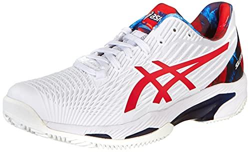 ASICS Solution Speed FF 2 Clay L.E, Zapatillas de Tenis Hombre, Color Blanco clásico, 44 EU
