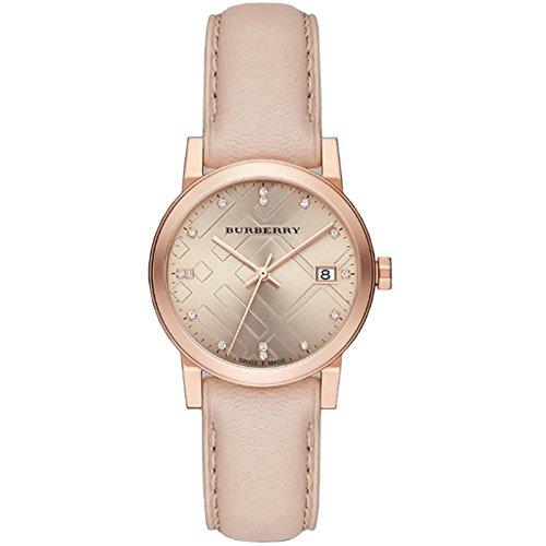 BURBERRY BU9131 - Reloj para Mujeres, Correa de Cuero