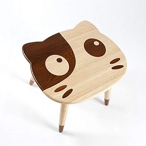 Reeamy-Home Table pour Enfants Table for Enfants Kid Furniture Modern Trendy Table de Jeu, Kitten Forme Table en Bois Développer Son Imagination for Enfants Bureau d'étude des Enfants
