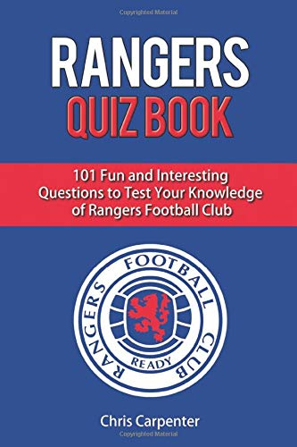 Rangers Football Club Crest Soccer Sports Poster 24x36 inch