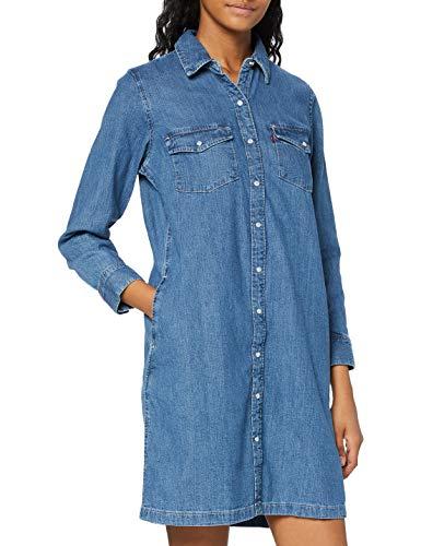 Levi's Selma Dress Vestido, Blue (Going Steady (2) 0000), Medium para Mujer