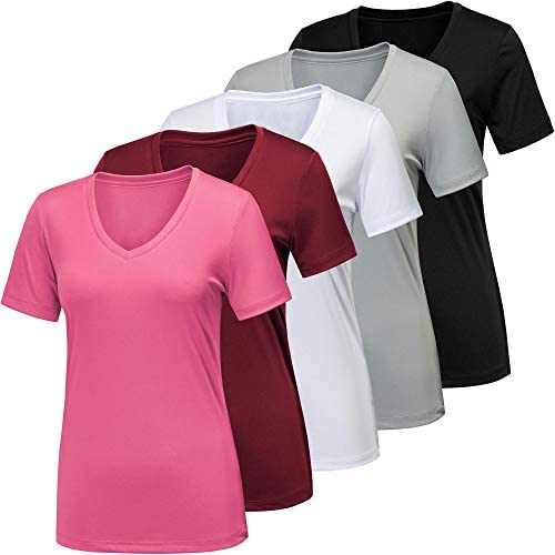 BALENNZ Workout Shirts for Women Moisture Wicking Quick Dry Active Athletic Women s Gym Performance product image