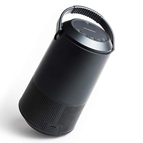Bluetooth Speaker,IDONDRDO Portable Bluetooth 5.0 Wireless Speaker,with 360 Surround Sound,Built-in Mic,IPX4 Waterproof,Stereo Sound with Rich Bass,Outdoor Speaker for Home/Party/Camping