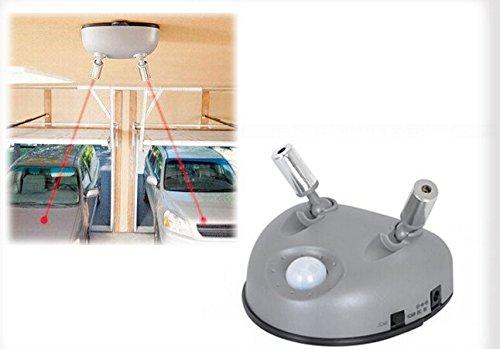 Automatische Garage Dual Laser Parking System Bewegungsmelder Zwei Auto Guide Helper 220V